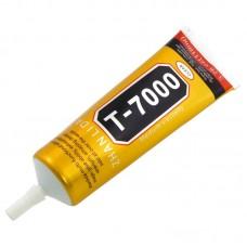 Клей силиконовый    T-7000, чёрный, 110ml, в тюбике с дозатором
