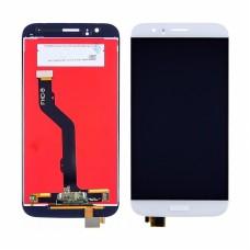 Дисплей  для HUAWEI  G8 (RIO-L01) с белым тачскрином