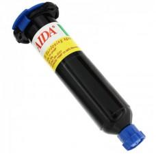 Клей LOCA  AIDA  TP-1000N (30 гр) в чёрном шприце, для склеивания комплектов дисплей+тачскрин под ультрафиолетом