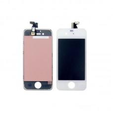 Дисплей  для APPLE  iPhone 4s с белым тачскрином high copy