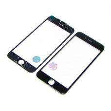 Стекло тачскрина  для APPLE  iPhone 6 чёрное с рамкой оригинал (TW)