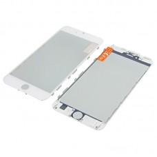 Стекло тачскрина  для Apple  iPhone 6s Plus белое с рамкой и OCA плёнкой HC