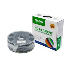 Пластик для 3D печати  eSUN  ABS, 1.75 мм, 1 кг, чёрный
