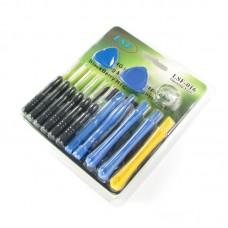 Набор инструментов    LSF-016 (отвёртки: *0.8, +1.5, -2.0, T4, T5, T6; 2 медиатора, 5 лопаток, присоска)