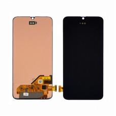 Дисплей  для SAMSUNG  A405 Galaxy A40 (2019) с чёрным тачскрином
