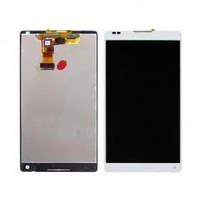 Дисплей  для SONY  C6503/Xperia ZL с белым тачскрином