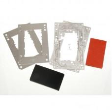 Комплект форм YMJ iPhone 7,8 (Al) Алюминевые + резиновые , для фиксации стекла и ламинации при склеивании в ламинаторе Forward RMB-1 EDGE, RMB-2 EDGE, CEO EDGE