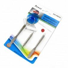 Набор инструментов    2806 для iPhone, iPad (две лопатки металлические, отвёртки: звезда 0.8,звезда 1.2, съемник-присоска)