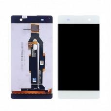 Дисплей  для SONY  F3112 Xperia XA с белым тачскрином