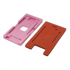 Комплект форм (из металла и резины)  для APPLE  iPhone 5/5S, для отцентровки и склеивания дисплея со стеклом оснащённым дисплейной рамкой
