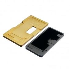 Комплект форм (из металла и резины)  для APPLE  iPhone XS Max, для отцентровки и склеивания дисплея со стеклом оснащённым дисплейной рамкой