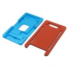 Комплект форм (из металла и резины)  для APPLE  iPhone 7, для отцентровки и склеивания дисплея со стеклом оснащённым дисплейной рамкой