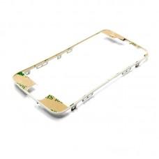 Дисплейная рамка  для APPLE  iPhone 5s белая со скотчем
