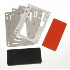 Комплект форм YMJ iPhone Xs (Al) Алюминевые + резиновые , для фиксации стекла и ламинации при склеивании в ламинаторе Forward RMB-1 EDGE, RMB-2 EDGE, CEO EDGE