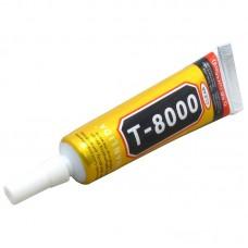 Клей силиконовый    T-8000, 15ml, в тюбике с дозатором
