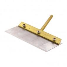 Жало паяльника с лопаткой и сменным лезвием    70 mm, d=6mm,  для удаления остатков клея после разделения комплекта дисплей + тачскрин