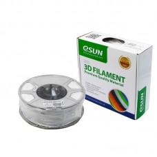 Пластик для 3D печати  eSUN  PETG, 1.75 мм, 1 кг, белый