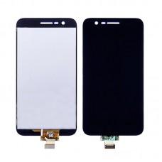 Дисплей  для LG  K10 (2017) M250/M250N/M250E/X400/K20 Plus MP260 с чёрным тачскрином