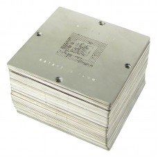 Набор трафаретов под специализированный столик    BGA 80х80 мм. (184 шт.) для ноутбуков/ПК/Xbox 360/PS3/PSP/Wii