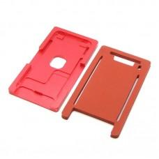 Комплект форм (из металла и резины)  для APPLE  iPhone 8, для отцентровки и склеивания дисплея со стеклом оснащённым дисплейной рамкой