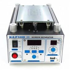 """Сепаратор 9"""" (20 x 11 см) WEP 946D-III с УФ камерой 180x100x20 мм, встроенным компрессором, 3-мя термопрофилями, выходом USB 5V/1A"""