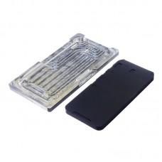 Комплект форм (из металла и резины)  для APPLE  iPhone XR, для отцентровки и склеивания дисплея со стеклом оснащённым дисплейной рамкой
