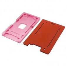 Комплект форм (из металла и резины)  для APPLE  iPhone 6 Plus/6S Plus, для отцентровки и склеивания дисплея со стеклом оснащённым дисплейной рамкой