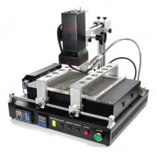 Паяльная станция инфракрасная ACHI IR-PRO-SC USB (программируемая, с ИК пушкой, большим ИК преднагревателем и держателем плат)