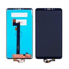 Дисплей  для XIAOMI  Mi Max 3 с чёрным тачскрином
