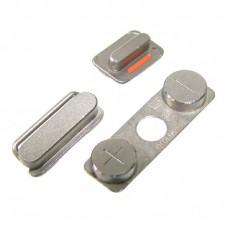 Комплект боковых кнопок  для APPLE  iPhone 4/4S (вкл.-выкл./громкости/беззвучный режим)