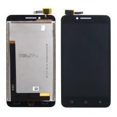Дисплей  для LENOVO  A2020 Vibe C с чёрным тачскрином