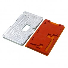 Комплект форм (из металла и резины)  для APPLE  iPhone X, для отцентровки и склеивания дисплея со стеклом оснащённым дисплейной рамкой