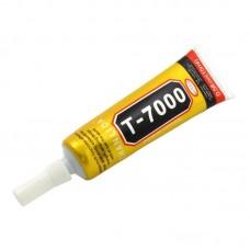 Клей силиконовый    T-7000, чёрный, 15ml, в тюбике с дозатором