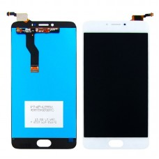 Дисплей  для MEIZU  M3 Note (model L681H) с белым тачскрином