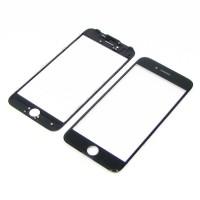 Стекло тачскрина  для APPLE  iPhone 7 чёрное с рамкой и OCA плёнкой Original