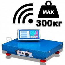Весы торговые OPERA ACS OP-300 WIFI беспроводные, (45x55 cм)  усиленная платформа, железная голова
