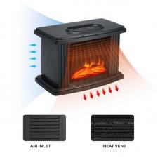 Камин обогреватель Flame Heater (W-011) с  пультом