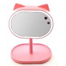 Макияжное зеркало с Led подсветкой, большое, FOX (ящ-24шт.)