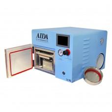 Аппарат с вакуумным ламинатором и автоклавом AIDA A-508 с формами для Edge (встроенный насос, автоклав d=11, L=27,5см; ламинатор L=19, W=11 см)