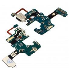 Разъём зарядки  для SAMSUNG  N950 Note 8 на плате с шлейфом, микрофоном и компонентами