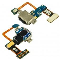 Разъём зарядки  для SAMSUNG  N960 Note 9 на плате с шлейфом, микрофоном и компонентами