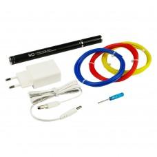 3D ручка с LED дисплеем D7/RP900A 5В/2А, сопло 0.6 мм, темп. 130-230 гр С, контроль скорости, ABS/PLA 1.75 мм чёрная