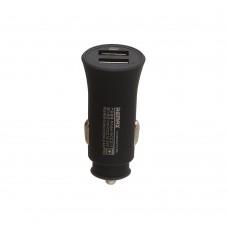 Автомобильное зарядное устройство  Remax  RCC 217 2 USB 2.4A чёрное