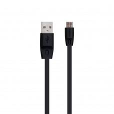 USB кабель  Remax  RC-001m 2m Micro чёрный