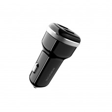 Автомобильное зарядное устройство  Borofone  BZ13 2 USB 2.4A чёрное