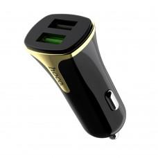 Автомобильное зарядное устройство  Hoco  Z31 2 USB 3.4A чёрное