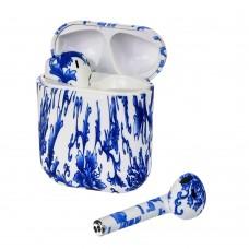 Беспроводные наушники    I9F-XS TWS сине-белые цвет № 01