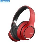 Беспроводные накладные наушники Lenovo HD200 красные