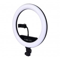 """Кольцевая LED лампа    F-360S с держателем для телефона и портативным пультом 14"""" 36см"""
