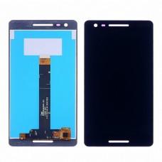 Дисплей  для NOKIA  2.1 Dual Sim с чёрным тачскрином